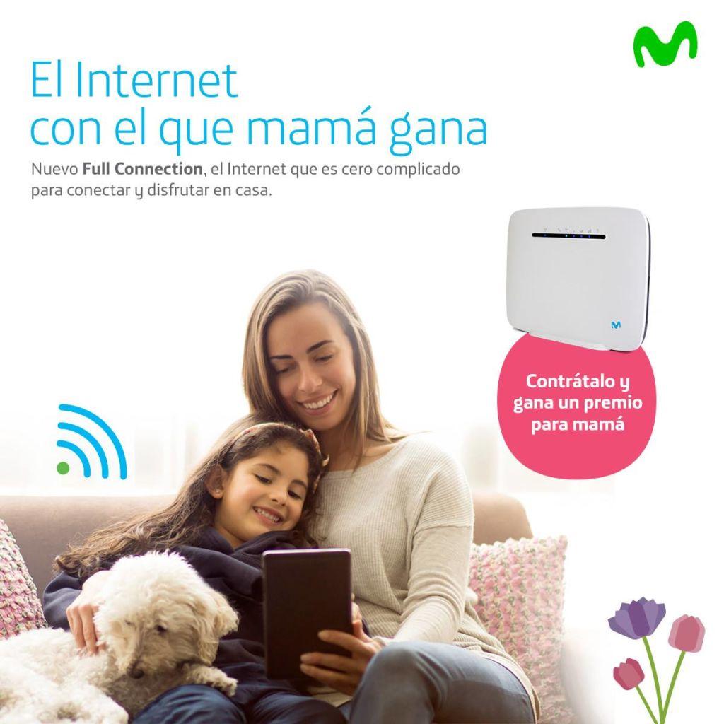 Promociones de Movistar para el día de las madres 2018 - mama-siempre-gana-con-movistar_4