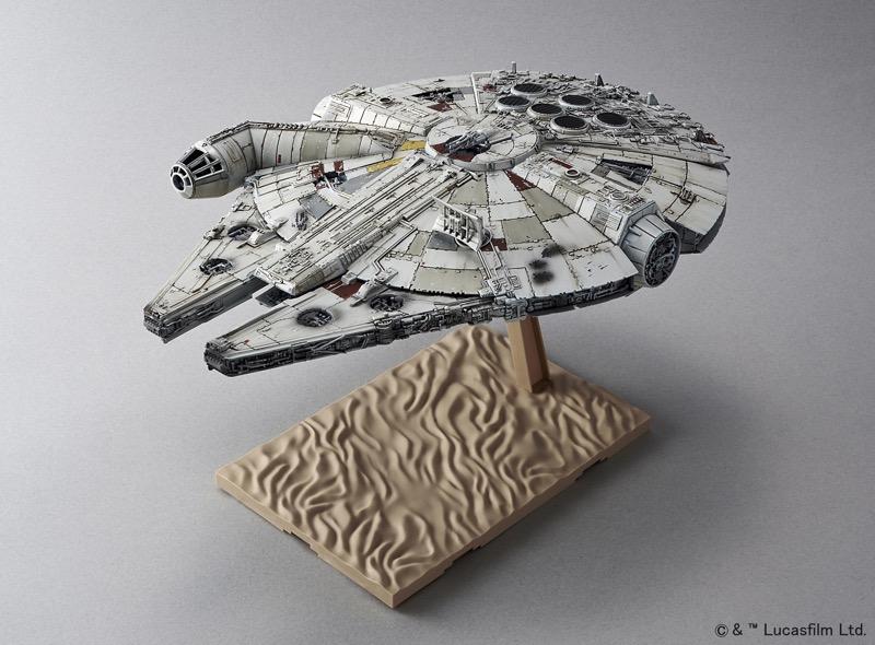 millennium falcon star wars originals Bandai Hobby de Star Wars, nueva línea de juguetes para armar ¡llega a México!