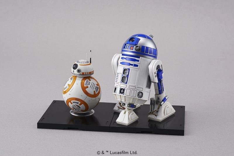 Bandai Hobby de Star Wars, nueva línea de juguetes para armar ¡llega a México! - r2d2-bb8