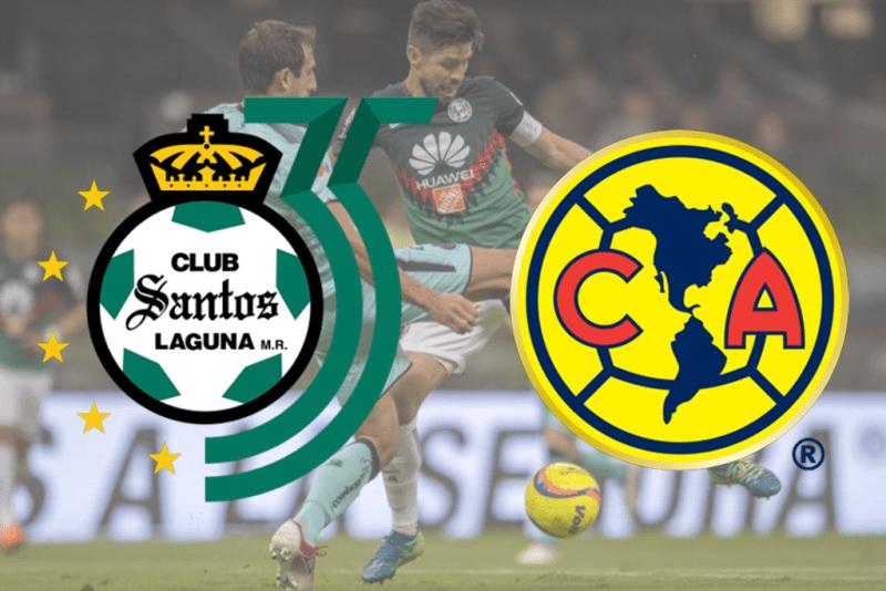 Santos vs América, Semifinales de Liga MX C2018 ¡En vivo por internet! - santos-vs-america-800x534