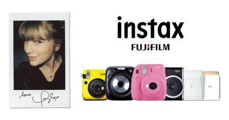 Taylor Swift se une en alianza global a instax de Fujifilm