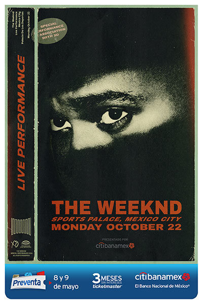 The Weeknd anuncia su primer concierto en México - the_weekend_preventa