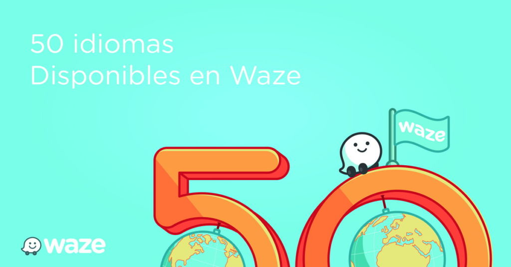 Waze ya disponible en más de 50 idiomas para tu elección - waze-ya-tiene-mas-de-50-idiomas