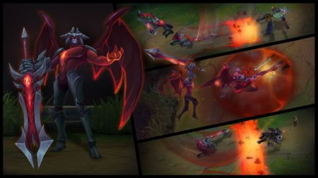La actualización de Aatrox ya está disponible en League of Legends