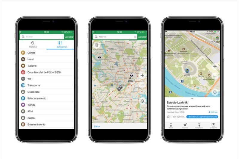 La app de Maps.me añade rutas por las ciudades de Mundial de Rusia 2018 - app-gratuita-de-mapas-maps_me_1-800x532