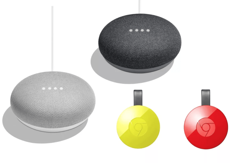 Google Home tiene descuentos exclusivos en Mercado Libre - bundle-2-mini-2-chromecast-800x542