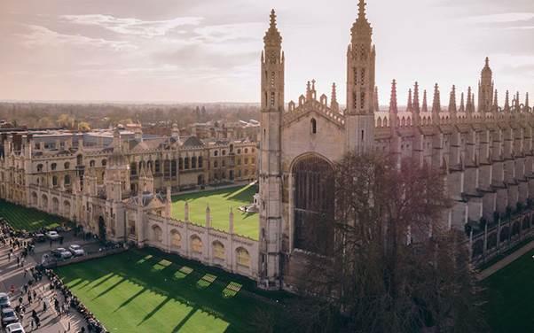 5 ciudades europeas con el mejor ambiente universitario - cambridge