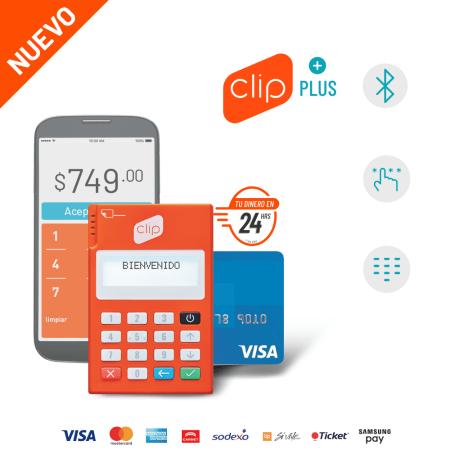 Nuevo lector Clip Plus, con atractivos beneficios para incrementar tus ventas