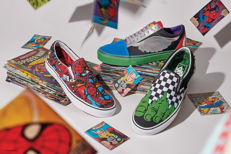 Colección Vans x Marvel: calzado, ropa y accesorios de los personajes icónicos del Universo Marvel - coleccion-vans-x-marvel-_1-800x533