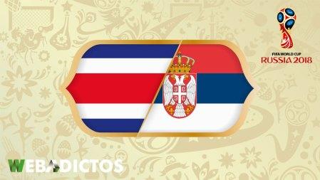 Costa Rica vs Serbia en el mundial Rusia 2018 ¡En vivo por internet!