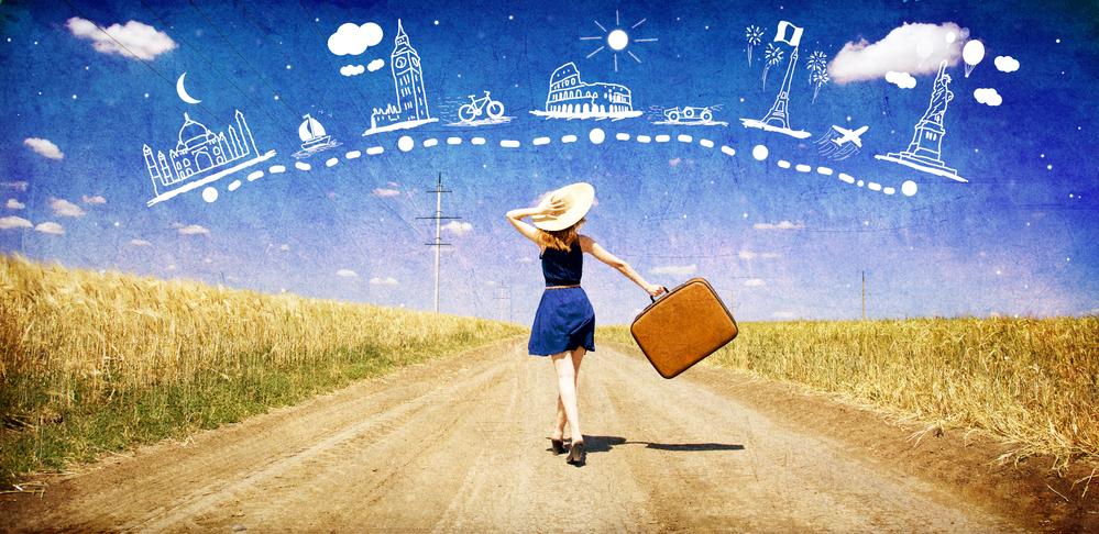 Mujeres, quienes usan más internet para viajar - mujeres-viajeras