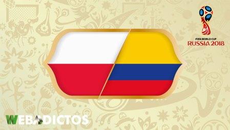 Polonia vs Colombia en el Mundial Rusia 2018 ¡En vivo por internet!