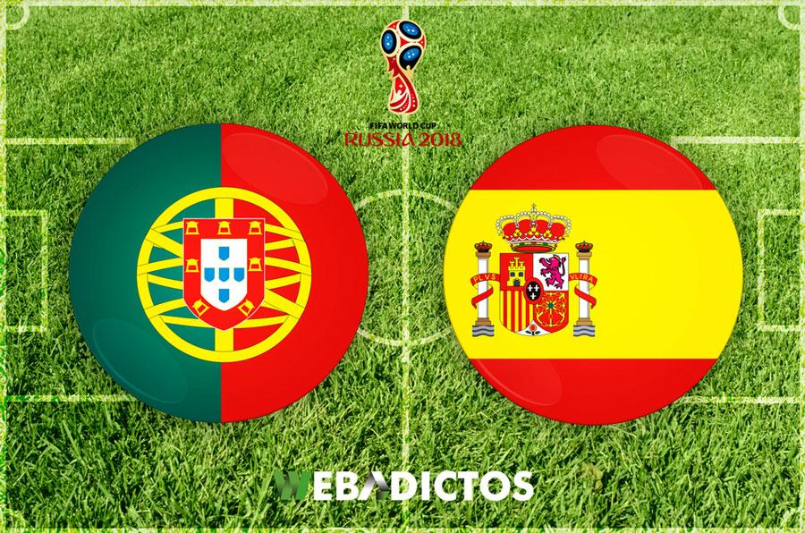 Portugal vs España, Mundial Rusia 2018 ¡En vivo por internet! | Grupo B - portugal-vs-espana-mundial-2018-1