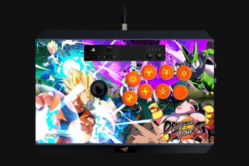 Razer anuncia el Fightsticks Dragon Ball Figtherz para Xbox One y PS4 - razer-panthera-dragonball-console-800x534