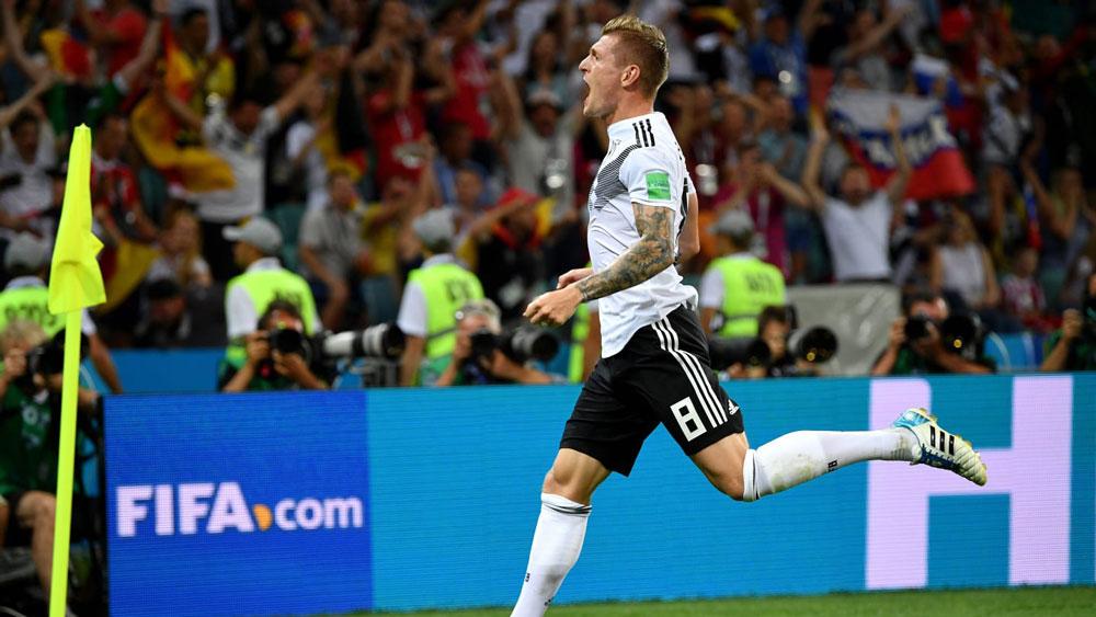 Ve la repetición de Alemania vs Suecia completo, Mundial 2018 - repeticion-alemania-vs-suecia-mundial-2018-kroos