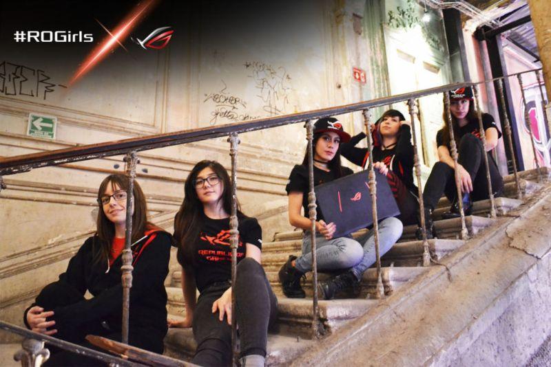 ASUS Republic of Gamers crea el primer equipo femenil #ROGirls - rogirls-800x534
