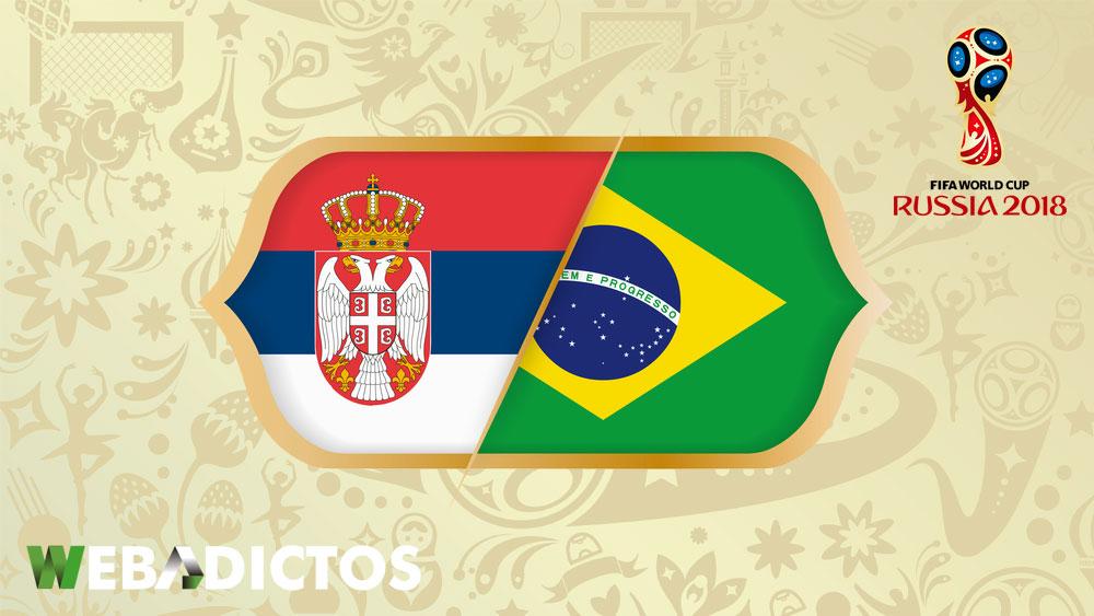 Serbia vs Brasil en el Mundial Rusia 2018 ¡En vivo por internet! - serbia-vs-brasil-mundial-2018