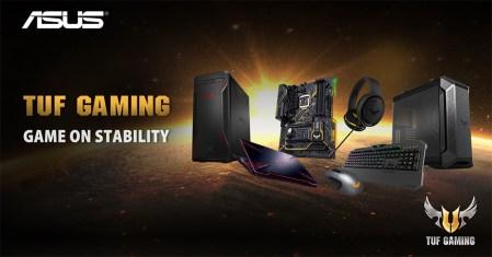 ASUS anuncia nuevos productos de la Familia TUF Gaming