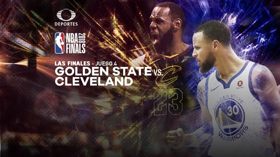 Warriors vs Cavs, Final de NBA 2018 Juego 4 ¡En vivo por internet! - warriors-vs-cavs-final-nba-2018-juego-4-televisa-deportes