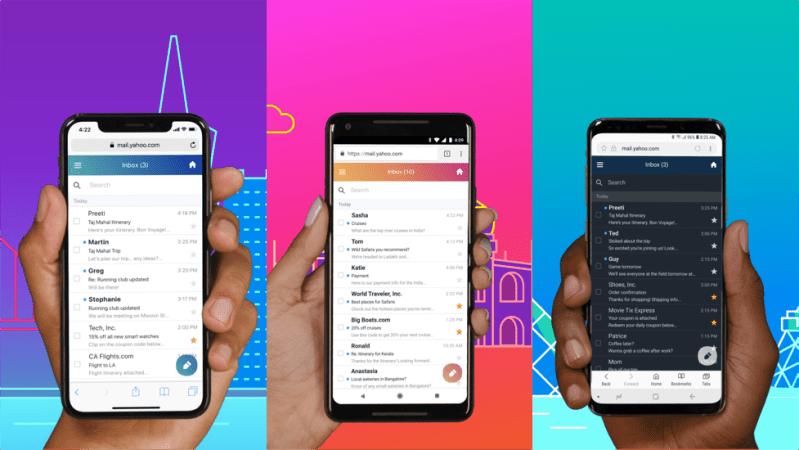 Yahoo lanza nueva experiencia web de correo para móviles y nueva app para Android Go - yahoo-800x450