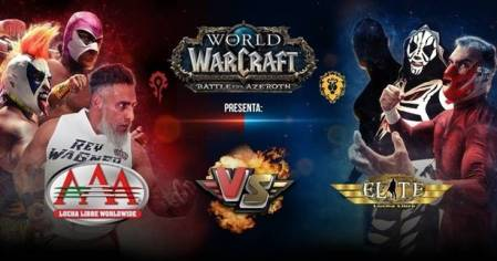 "Sigue la transmisión en vivo por Twitch de ""World of Warcraft: Battle for Azeroth presenta: AAA vs. Elite"""