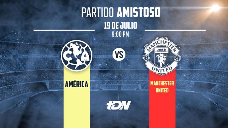 América vs Manchester United, Amistoso 2018 ¡En vivo por internet! - america-vs-manchester-united-2018-internet