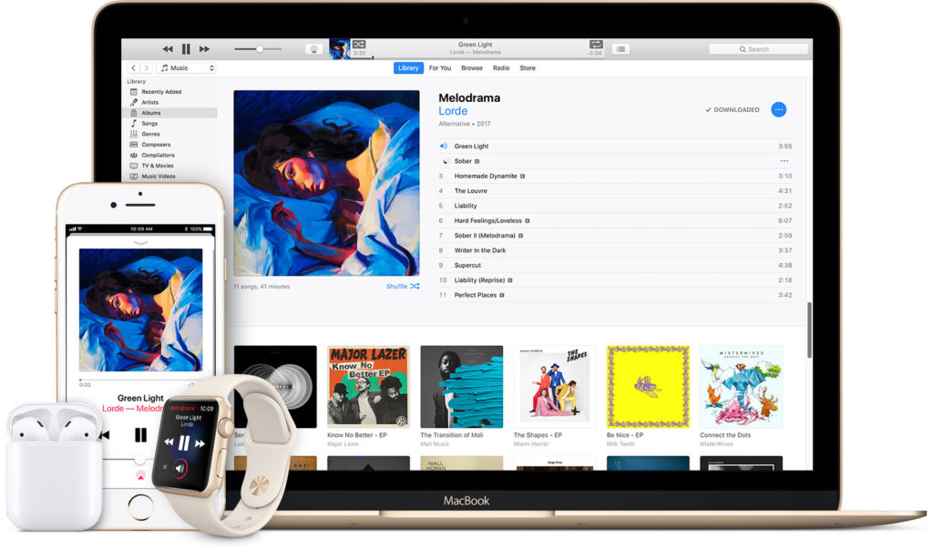 Apple Music ya superó a Spotify en los Estados Unidos