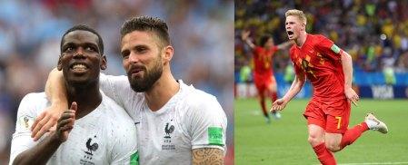 Francia vs Bélgica, Semifinal del Mundial 2018 ¡En vivo por internet!