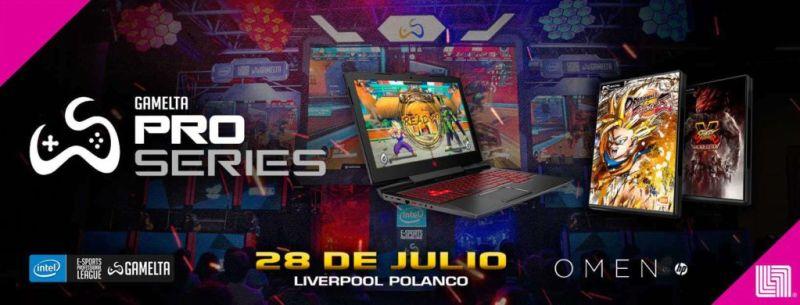Gamelta Pro Series, la liga de eSports más grande de Latinoamérica en la CDMX el 28 julio - gamelta-pro-series-800x305