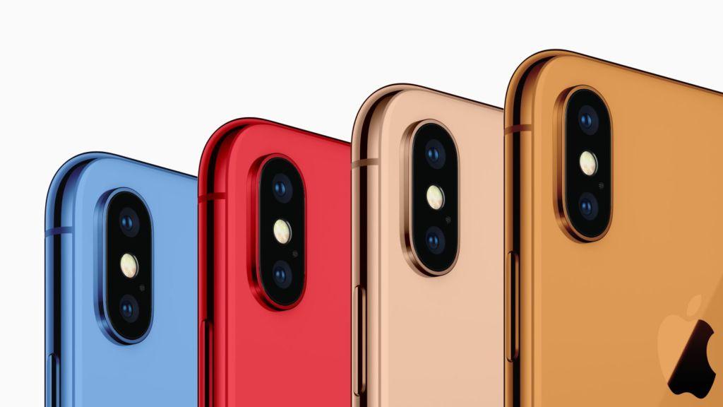 Los iPhone de este 2018 vendrán en más colores: reporte - iphone-2018-color-mockup