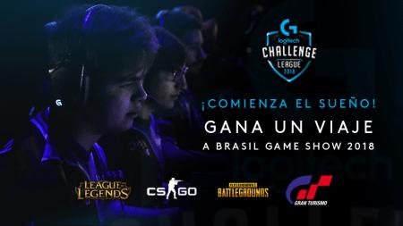 Inscribe a tu equipo en el Logitech G Challenge 2018 ¡el premio un viaje al Game Show!