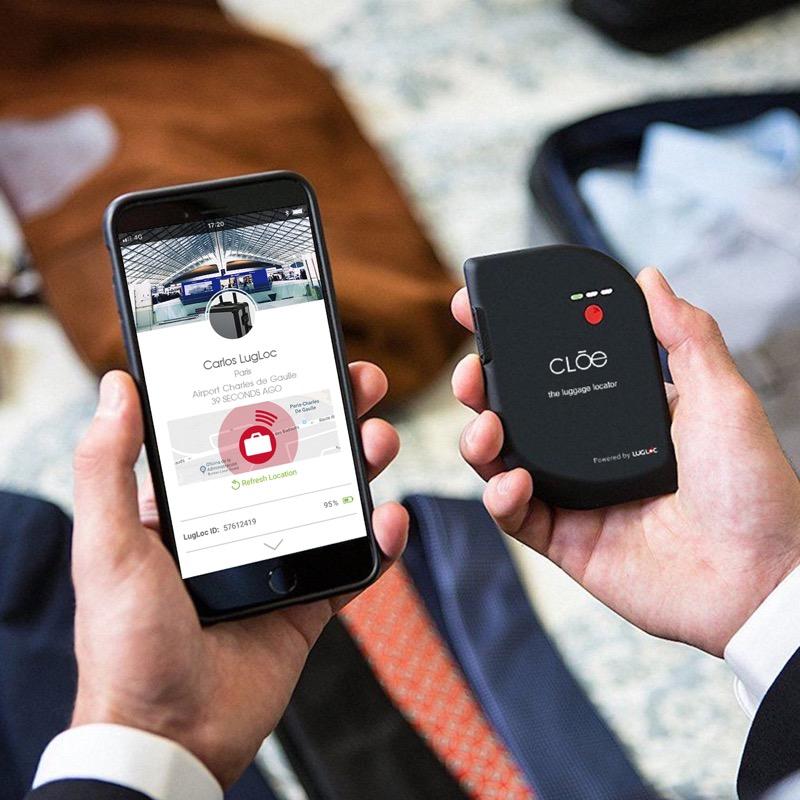 LugLoc de Cloe, el dispositivo para rastrear tu equipaje via GSM y bluetooth - lugloc
