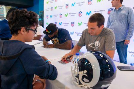 Movistar acerca la NFL a los fans de México - luis-perez