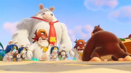 Mario + Rabbids Kingdom Battle ya están disponible en todo el mundo