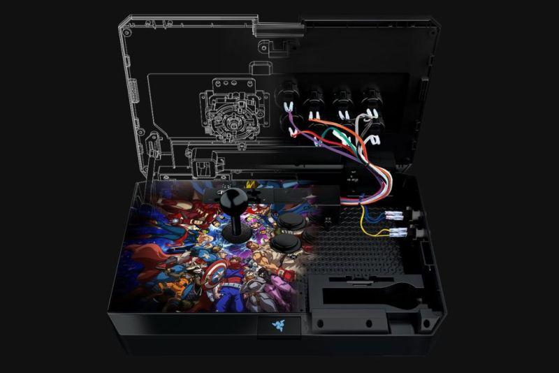 """Razer anuncia """"Marvel vs. Capcom: Infinite"""" para PlayStation 4 - panthera-arcade-stick-de-razer_2-800x534"""