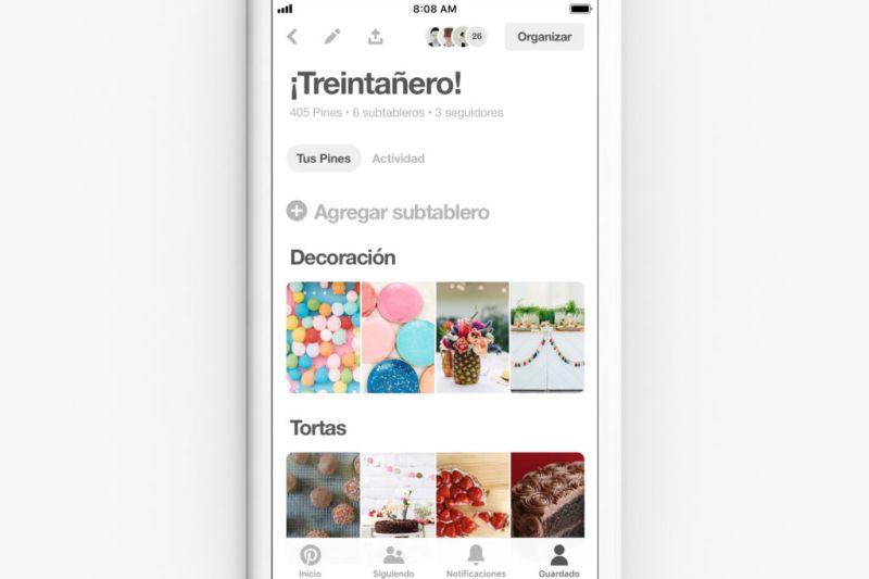 Pinterest lanza su función de colaboración para planear fiestas con familiares y amigos - pinterest-funcion-de-colaboracion-para-planear-fiestas-800x533