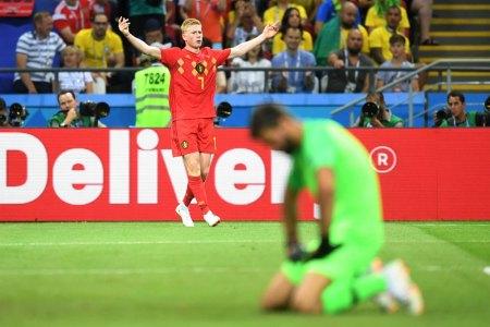 Ve la repetición de Brasil vs Bélgica completo en el Mundial 2018