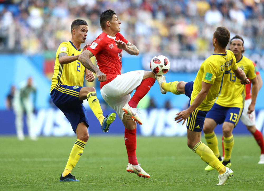 Ve la repetición de Suecia vs Suiza completo en el Mundial 2018 - repeticion-partido-completo-suecia-vs-suiza