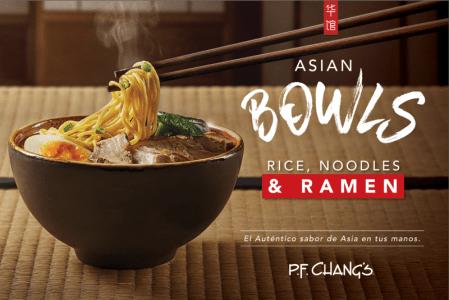 Asia Bowls, los nuevos platillos con los auténticos sabores de Asia ¡que tienes que probar!