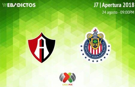 Atlas vs Chivas, Clásico Tapatío en la J7 A2018 ¡En vivo por internet!