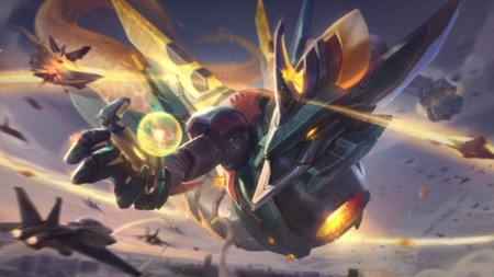 El aspecto épico de Aurelion Sol Mecha llega a League of Legends