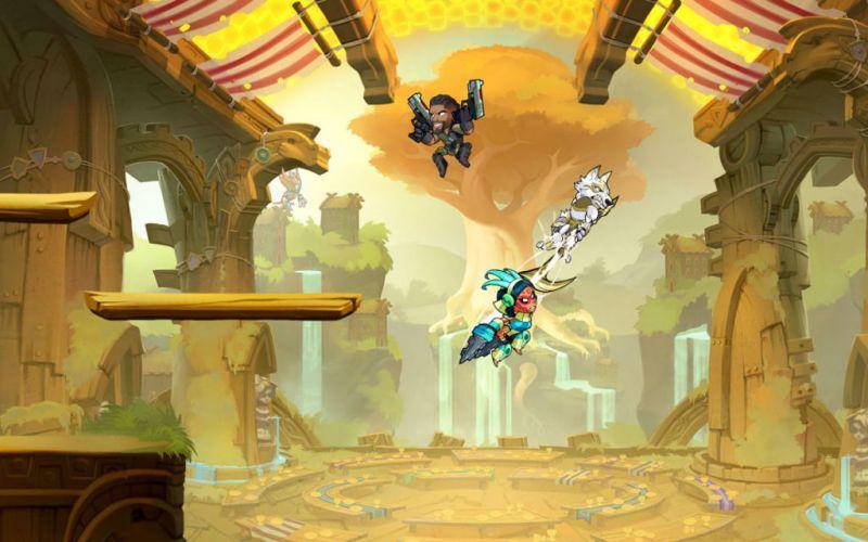 Brawlhalla,llegará a Xbox One y Nintendo Switch a partir del 6 de noviembre - brawlhalla_1-800x500