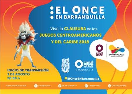 Ve la Clausura de los Juegos Centroamericanos y del Caribe 2018 ¡En vivo!