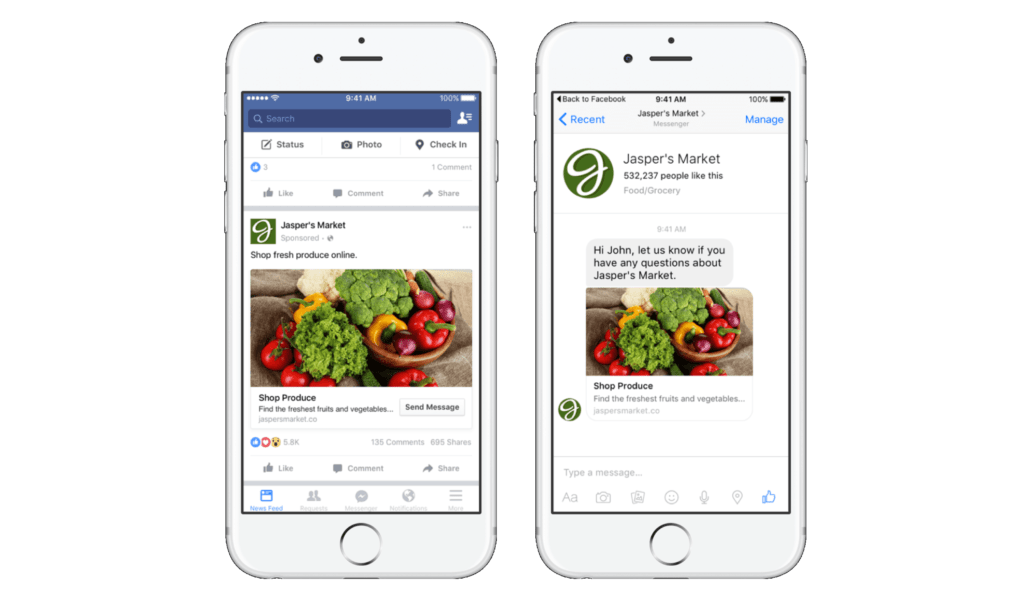 Facebook implementa acciones para evitar la discriminación en anuncios - facebook-ads-on-iphone