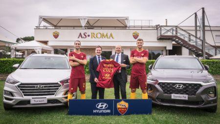 Hyundai Motor se convierte en patrocinador del club de futbol AS Roma