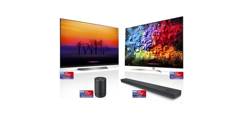 Los dispositivos ThinQ con IA de LG son reconocidos por su alta competitividad - lg-eisa-award-800x389