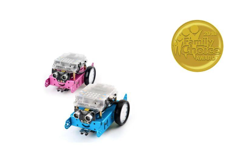 Los robots educativos STEAM de Makeblock ganan los premios Family Choice 2018 - makeblock-800x518