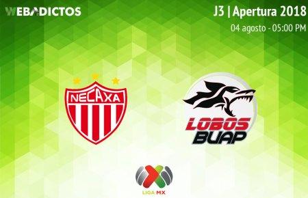 Necaxa vs Lobos BUAP, J3 del Apertura 2018 ¡En vivo por internet!