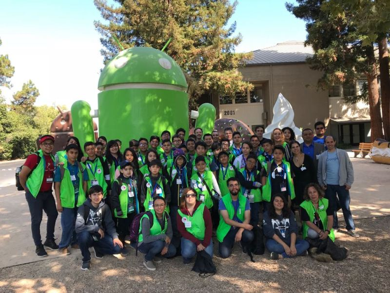 Niñas y niños viajaron a Silicon Valley para expandir sus conocimientos en ciencia, tecnología y robótica - nincc83os-viajaron-a-silicon-valley-1-800x600
