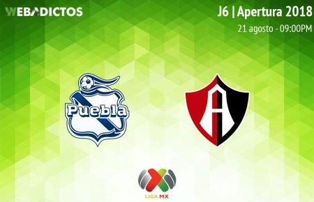 Puebla vs Atlas, Jornada 6 del Apertura 2018 ¡En vivo!